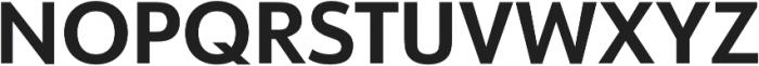 URW Form Bold otf (700) Font UPPERCASE