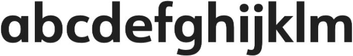 URW Form Bold otf (700) Font LOWERCASE