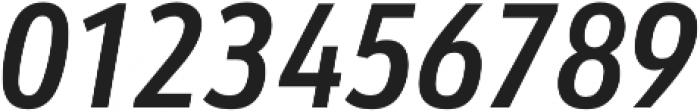 URW Form Cond Demi Italic otf (400) Font OTHER CHARS