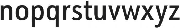 URW Form Cond Medium otf (500) Font LOWERCASE