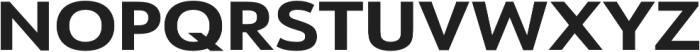 URW Form Expand Extra Bold otf (700) Font UPPERCASE