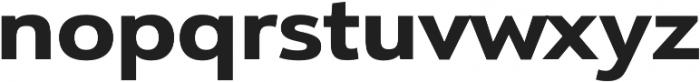 URW Form Expand Extra Bold otf (700) Font LOWERCASE