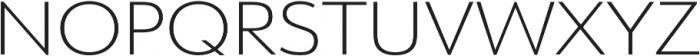 URW Form Expand Extra Light otf (200) Font UPPERCASE