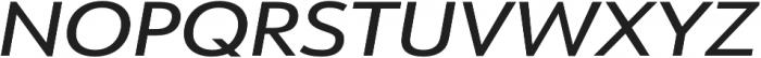 URW Form Expand Medium Italic otf (500) Font UPPERCASE