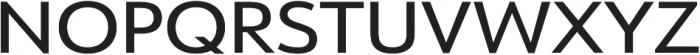 URW Form Expand Medium otf (500) Font UPPERCASE