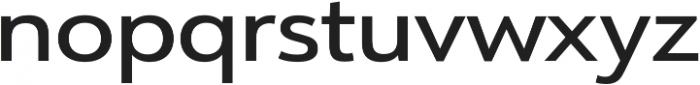 URW Form Expand Medium otf (500) Font LOWERCASE