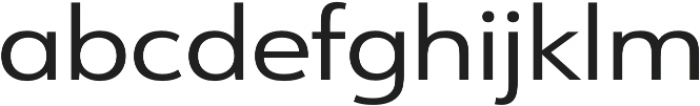URW Form Expand Regular otf (400) Font LOWERCASE