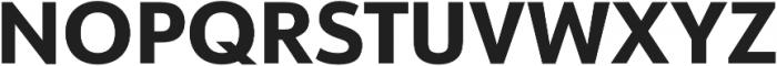 URW Form Extra Bold otf (700) Font UPPERCASE