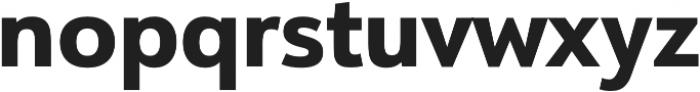 URW Form Extra Bold otf (700) Font LOWERCASE