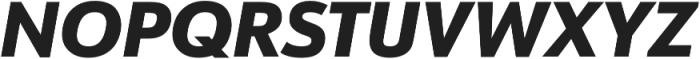 URW Form Heavy Italic otf (800) Font UPPERCASE