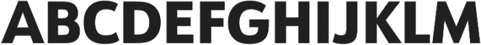 URW Form Heavy otf (800) Font UPPERCASE