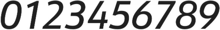URW Form Medium Italic otf (500) Font OTHER CHARS