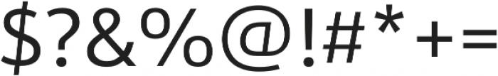 URW Form Regular otf (400) Font OTHER CHARS