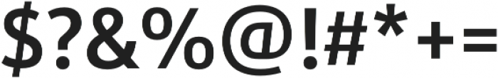 URW Form SemiCond Demi otf (400) Font OTHER CHARS