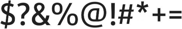 URW Form SemiCond Medium otf (500) Font OTHER CHARS
