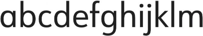 URW Form SemiCond Regular otf (400) Font LOWERCASE