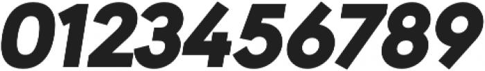 URW Geometric Black Oblique otf (900) Font OTHER CHARS