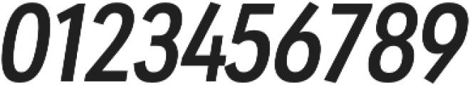 URW Geometric Cond Semi Bold Oblique otf (600) Font OTHER CHARS