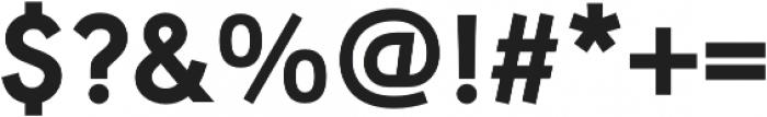 URW Geometric Extra Bold otf (700) Font OTHER CHARS