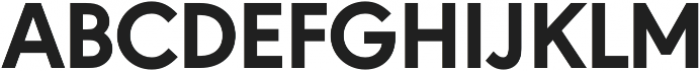 URW Geometric Extra Bold otf (700) Font UPPERCASE