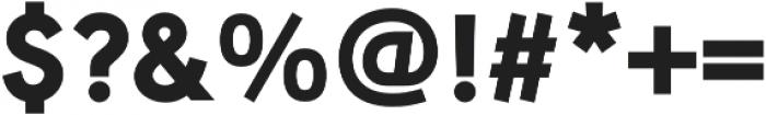 URW Geometric Heavy otf (800) Font OTHER CHARS