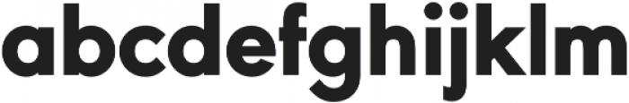 URW Geometric Heavy otf (800) Font LOWERCASE