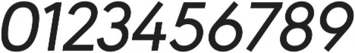 URW Geometric Medium Oblique otf (500) Font OTHER CHARS