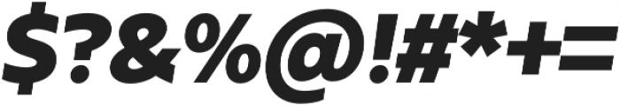 Urbani Black Italic otf (900) Font OTHER CHARS