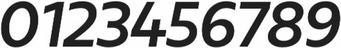 Urbani Bold Italic otf (700) Font OTHER CHARS