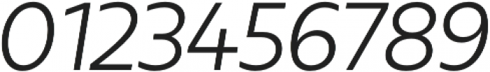 Urbani Book Italic otf (400) Font OTHER CHARS