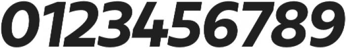 Urbani ExtraBold Italic otf (700) Font OTHER CHARS