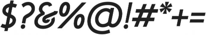 Urbanpolis Bold Oblique otf (700) Font OTHER CHARS