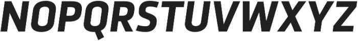 Urfa Bold Italic otf (700) Font UPPERCASE
