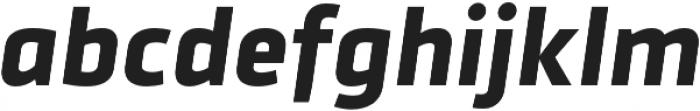 Urfa Bold Italic otf (700) Font LOWERCASE