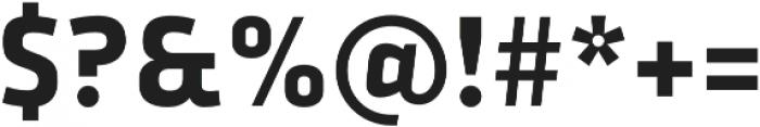 Urfa Bold otf (700) Font OTHER CHARS