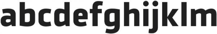 Urfa Bold otf (700) Font LOWERCASE