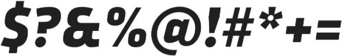 Urfa Heavy Italic otf (800) Font OTHER CHARS