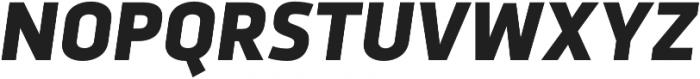 Urfa Heavy Italic otf (800) Font UPPERCASE