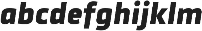 Urfa Heavy Italic otf (800) Font LOWERCASE