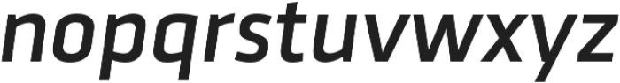 Urfa Medium Italic otf (500) Font LOWERCASE