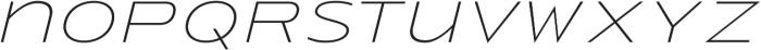 Urucungo Light Oblique otf (300) Font LOWERCASE