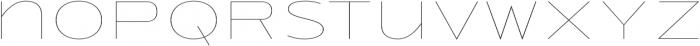 Urucungo Thin otf (100) Font LOWERCASE