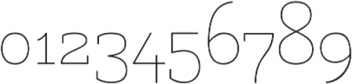 Uruga otf (300) Font OTHER CHARS