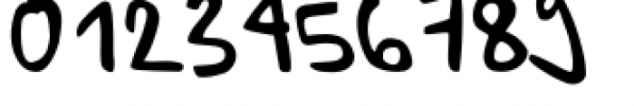 Ursula Handschrift Font OTHER CHARS