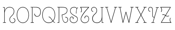 Uralita-Fina Font UPPERCASE
