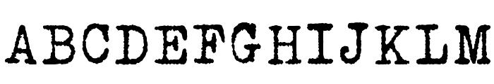 Urania Czech Font UPPERCASE