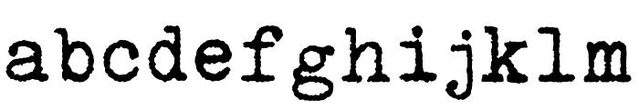 Urania Czech Font LOWERCASE