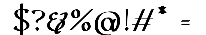Urania Serif Font OTHER CHARS