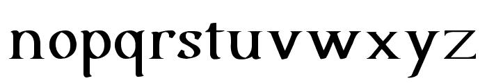 Urania Serif Font LOWERCASE