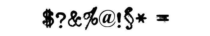 Urania_Piccola_II Font OTHER CHARS
